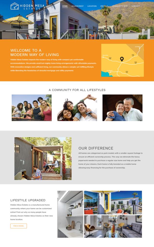 Hidden Mesa El Cajon Website