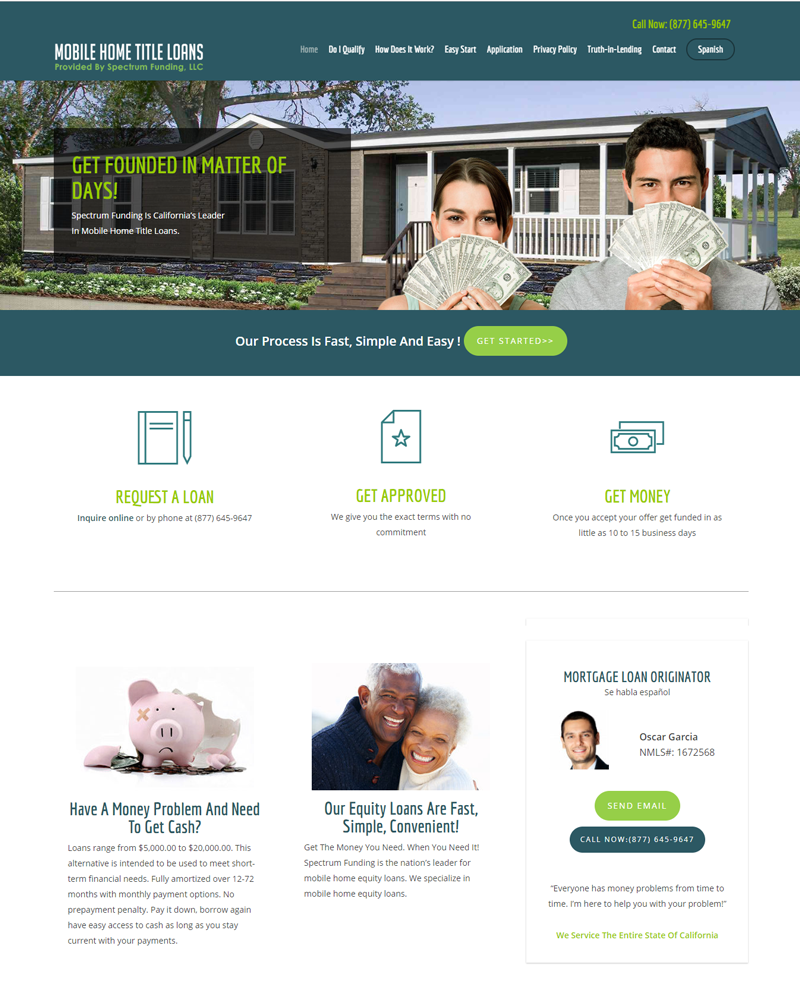 Mobile Home Title Loans