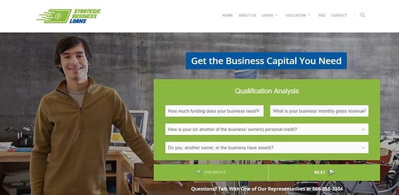 Strategic Business Loans